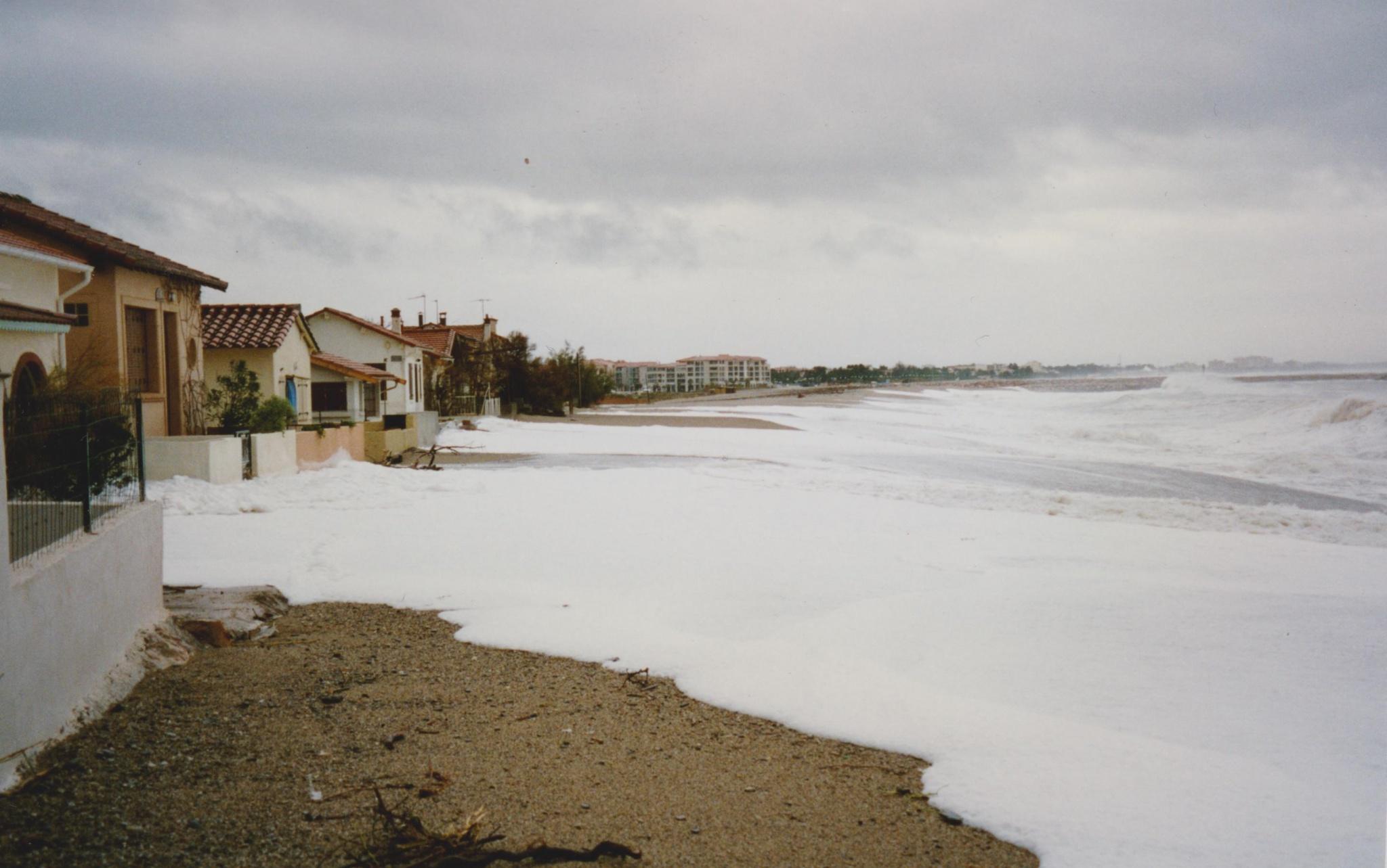 pourquoi agir 1 - L'érosion du littoral au Racou