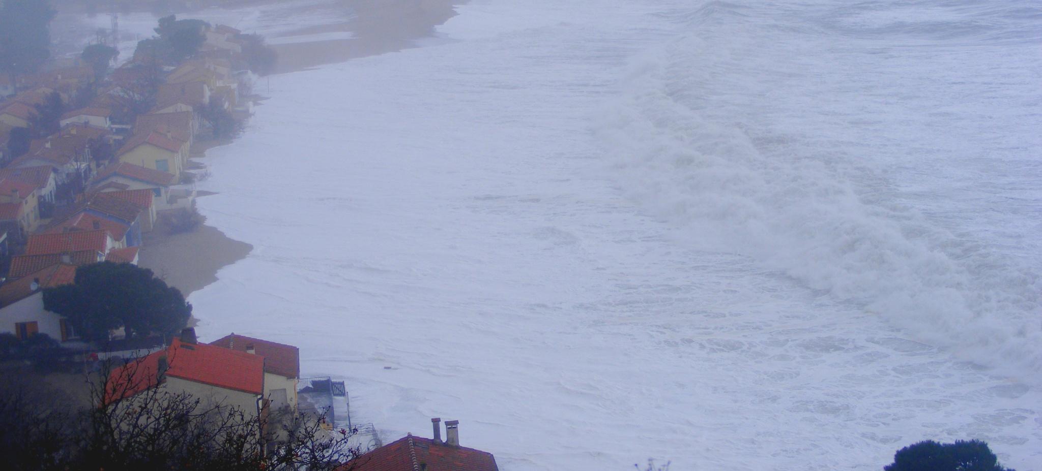 Depuis 50 ans, la mer ronge la plage