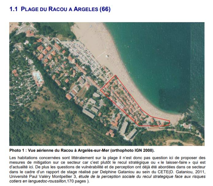 contrat plan etat region - L'érosion du littoral au Racou
