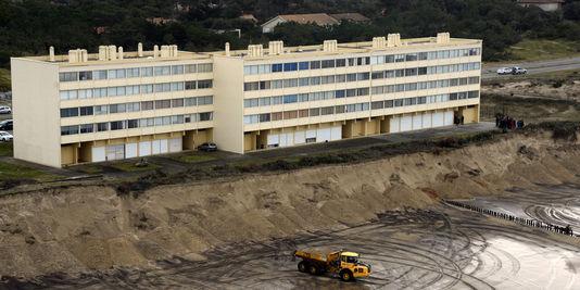 immeuble le signal soulac - Les conséquences juridiques de l'érosion