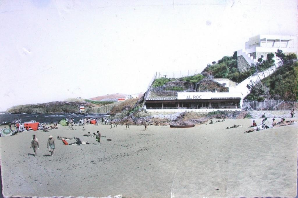plage racou en 1960 1024x683 - L'érosion du littoral au Racou