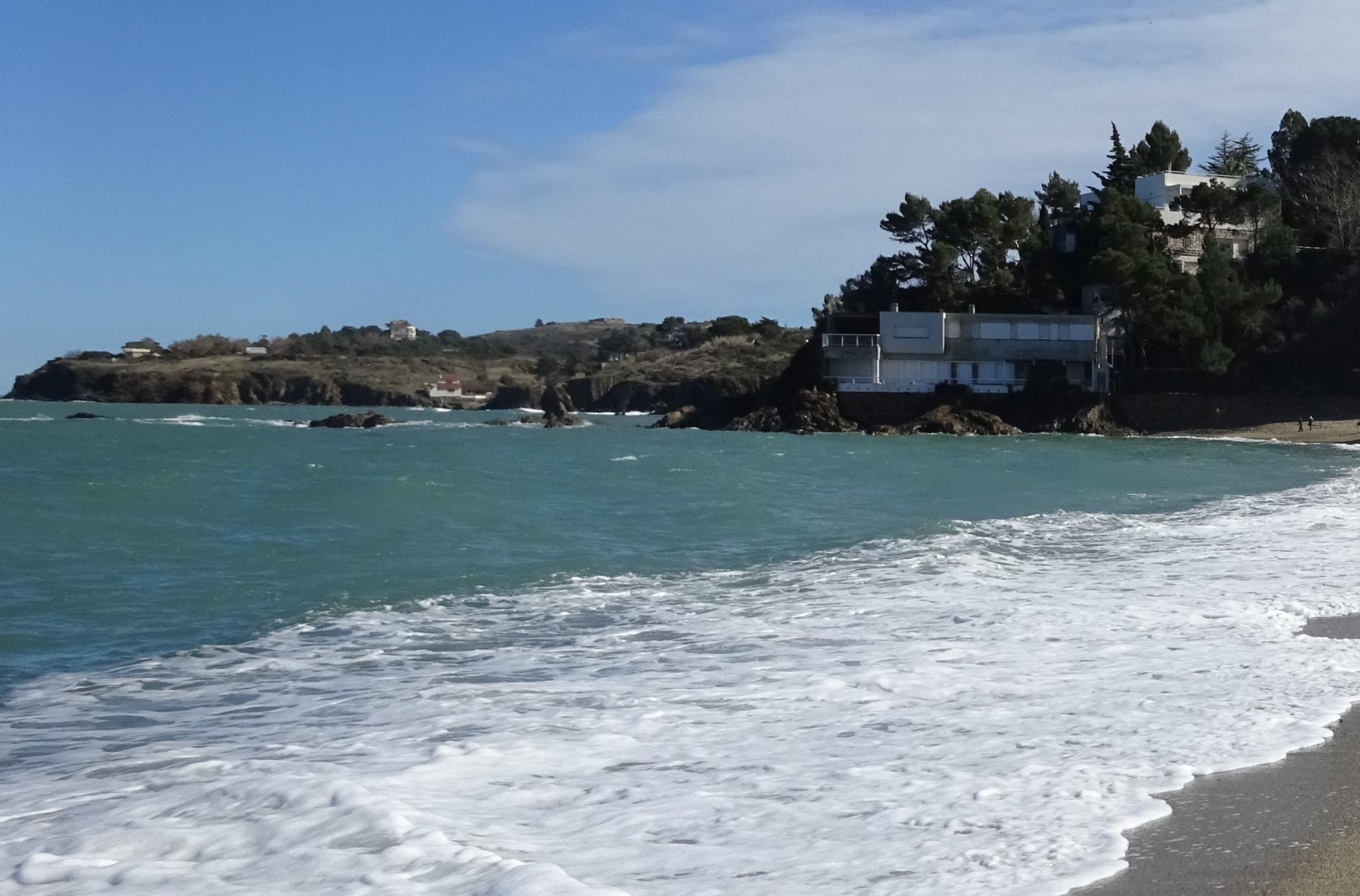 plage racou en 2010 - L'érosion du littoral au Racou