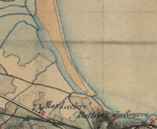 1840 2 - Le Racou vu d'en haut - Cartes géographiques