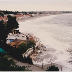 innondation au racou la plage