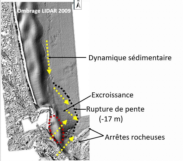 illustration texte 4 - Application d'une nouvelle méthode d'étude aux fonds marins du Racou