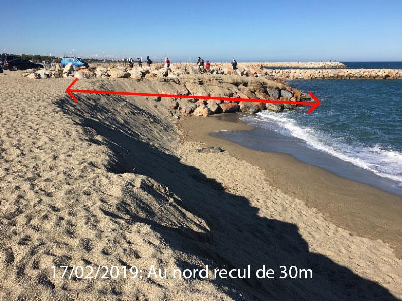 illustration2 article racou hiver 2018 2019 - La plage du Racou au cours de l'hiver 2018-2019