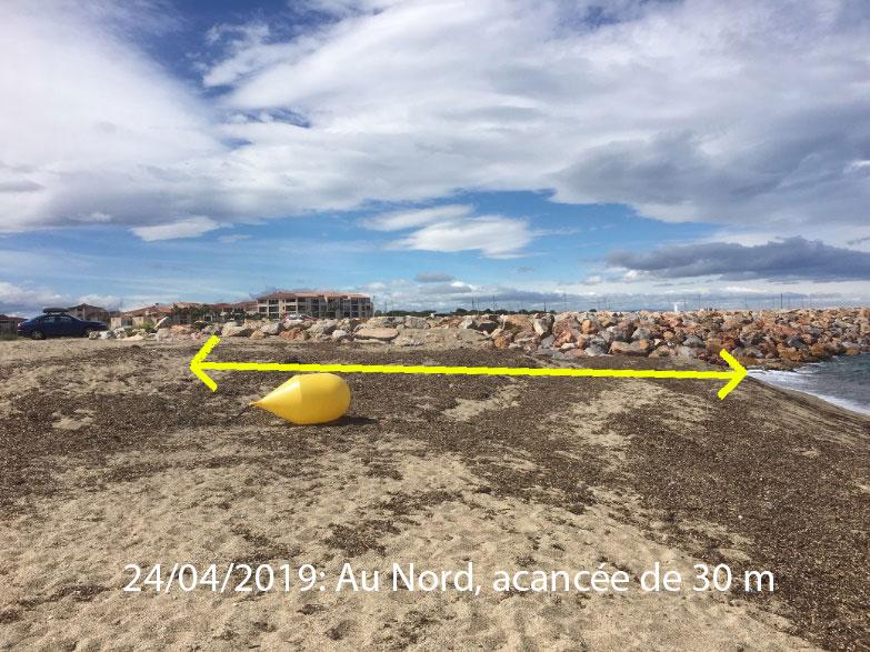 illustration4 article racou hiver 2018 2019 - La plage du Racou au cours de l'hiver 2018-2019