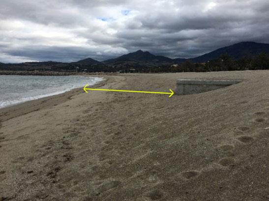 illustration7 article racou hiver 2018 2019 - La plage du Racou au cours de l'hiver 2018-2019