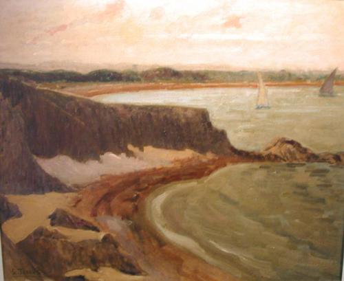 Les rochers du Racou - Etienne Terrus (1857-1922)