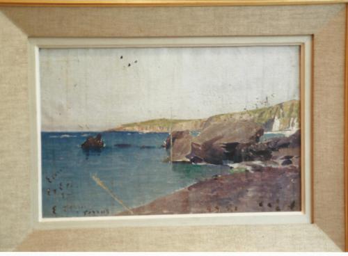 Rochers du Racou-Musée d_Elne - Etienne Terrus (1857-1922)