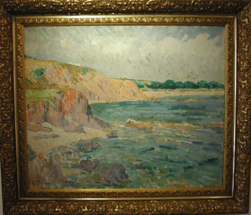 Les criques de porteils - Etienne Terrus (1857-1922)