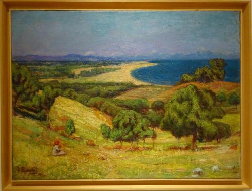 La plage du Racou - Louis Bausil (1876-1945) :