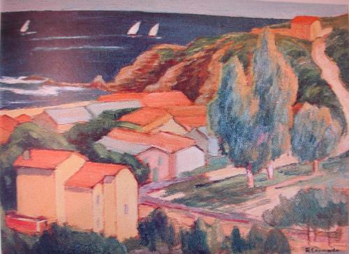 Le Racou - Henri Escara (1871-1954)