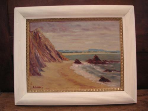 Les rochers du Racou 1925- Ernest Leduc